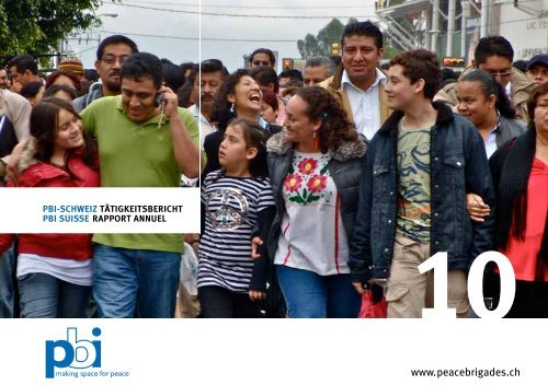10 - Peace Brigades International