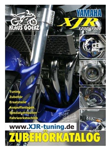 XJR Katalog 2009 - Klaus Goerz
