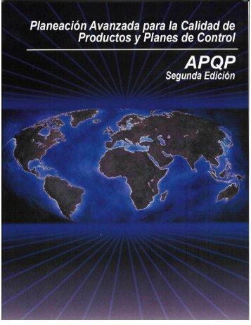 (apqp) y planes de control - Auto-consulting.org