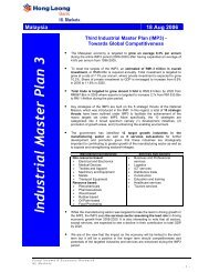 Industrial Master Plan 3 - malaysian society for engineering and ...