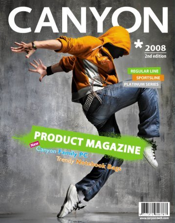 Canyon Product Magazine 2008 2nd edition