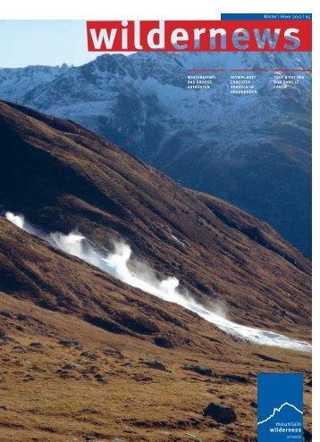 Winter | Hiver 2012 | 65 - Mountain Wilderness Schweiz