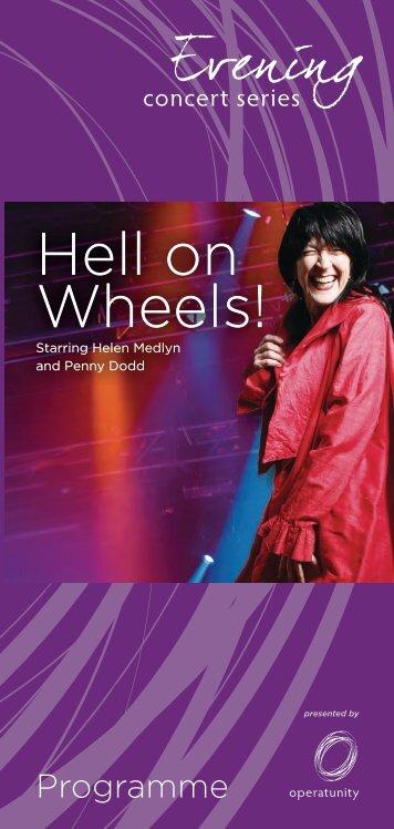 Hell on Wheels! Hell on Wheels! - Operatunity