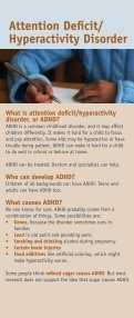 Attention Deficit Hyperactivity Disorder - NIMH - National Institutes of ... - Page 2