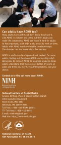 Attention Deficit Hyperactivity Disorder - NIMH - National Institutes of ... - Page 6