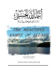 THE BEAUTIFUL NAMES OF ALLAAH - Moslim.se