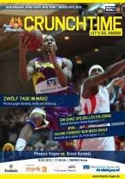 Brose Baskets (PDF-Version) - Phoenix Hagen