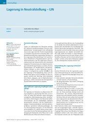 Lagerung in Neutralstellung – LiN - ferronfred.eu