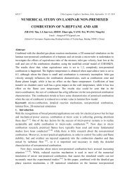 numerical study on laminar non-premixed combustion of n-heptane