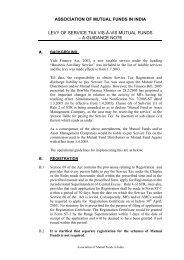 AMFI Best Practice - BNP Paribas Mutual Fund