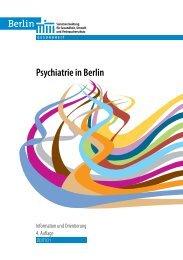 Psychiatrie in Berlin - Information und Orientierung - Pinel gGmbH