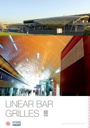 LINEAR BAR GRILLES - Airmaster Equipments Emirates