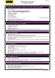 Material Safety Data Sheet - Office 365