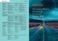 Pendo Herbst 2012 - Piper Verlag GmbH