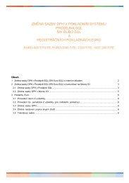 Prodejna SQL-zmena sazby DPH - Cígler software, a.s.