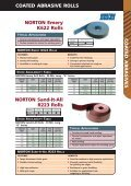 Coated Abrasive Rolls Cloth Rolls NORTON ... - Grindwell Norton - Page 3