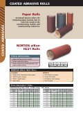 Coated Abrasive Rolls Cloth Rolls NORTON ... - Grindwell Norton - Page 4