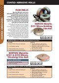 Coated Abrasive Rolls Cloth Rolls NORTON ... - Grindwell Norton - Page 6