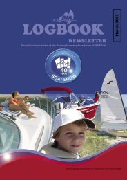 BIA Logbook Mar'07.indd - Boating Industry Association of NSW