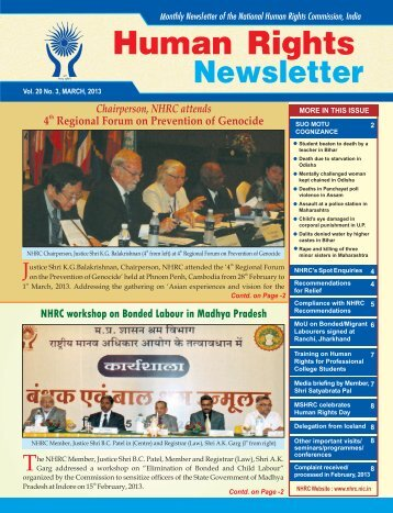MARCH-2013 (ENG).cdr - National Human Rights Commission