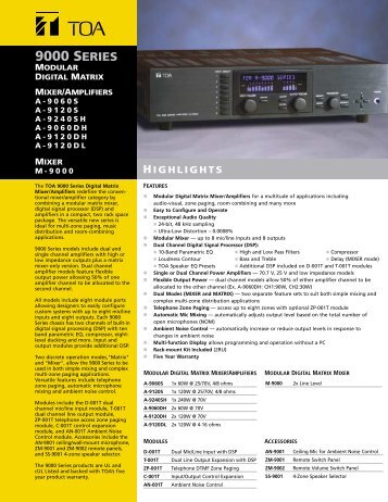 PDF Brochure - CAE
