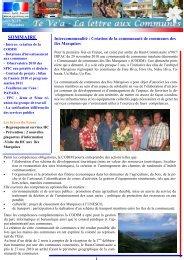 Te Ve'a n°19.pdf - Haut-Commissariat de la république en Polynésie ...
