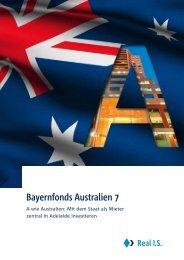 Bayernfonds Australien 7 - Geschlossene Fonds