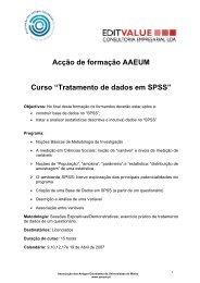 Faça aqui o download do Programa do Curso de SPSS em versão ...