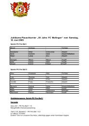 Turnierbericht_2005 - PK Fireball