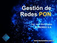 APROS+ Redes FTTH - TecnoRed