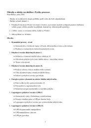 Okruhy a otázky na skúšku z Fyziky procesov