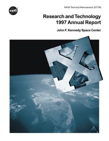 1997 - Kennedy Space Center Technology Transfer Office - Nasa