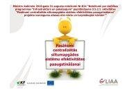 par projekta - LIAA