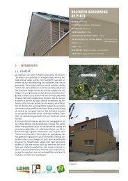 HALFOPEN BEBOUWING DE PINTE - Passiefhuis Platform