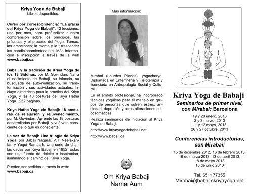 Descargar Programa Pdf Babaji S Kriya Yoga