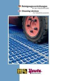 Reinigungsvorrichtungen Industrie 2013 - TOP REIN
