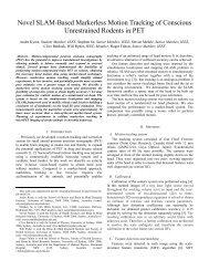 Novel SLAM-Based Markerless Motion Tracking of Conscious ...