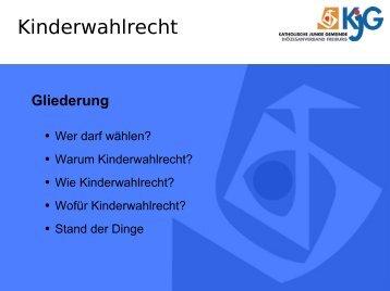 Präsentation Kinderwahlrecht - fxneumann