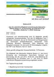 Zum Download bitte hier klicken - Naturpark Hüttener Berge