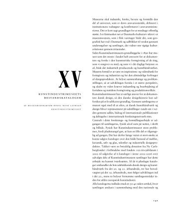 XV. - Ny Carlsbergfondet