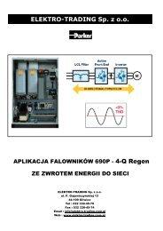 Falowniki 690+ wer.4Q Regen - Elektro-Trading sp. z oo