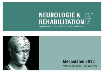 NEUROLOGIE & REHABILITATION