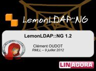 Présentation de LemonLDAP::NG 1.2