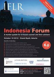 Indonesia Forum - IFLR.com