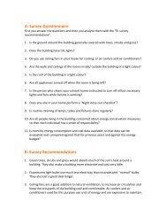 A: Survey Questionnaire B: Survey ... - Paryavaran Mitra