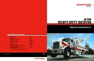 Jerr-Dan 60 Ton Heavy-Duty Rotator - Twin State Equipment
