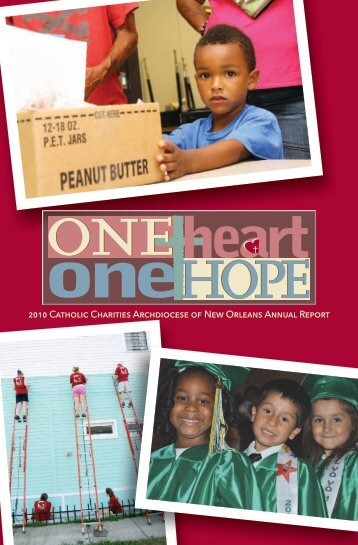 2010 Catholic Charities Archdiocese of New Orleans ... - CCANO