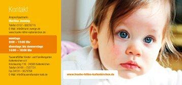 Frühe Hilfen Flyer (pdf) - Tausendfüßler Kinder- und Familiengarten ...