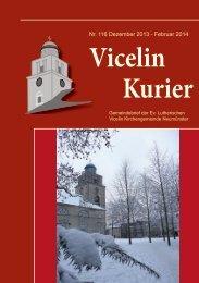 gbrief 116 .pdf - Ev.- luth. Vicelin - Kirchengemeinde Neumünster