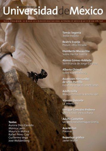 Tomás Segovia - Revista de la Universidad de México - UNAM
